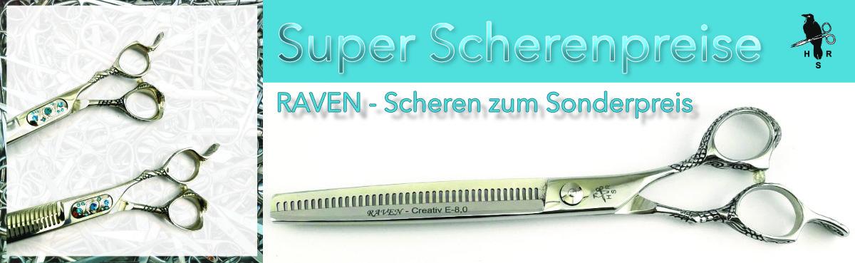 02 Raven - Super - Scheren Sonderangebote