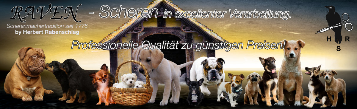 02 Rabenschlag - RAVEN - Hundescheren