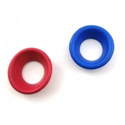 Augenringe für Scheren - Trichterform