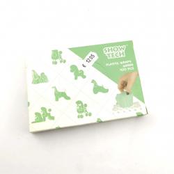 Show Tech Kunststoff Wraps Grün (15x30cm) - 100 Stück - Plastic Folien - Yorkshire Terrier